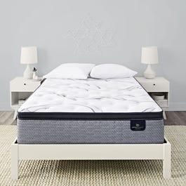 Queen Serta Perfect Sleeper Elite Trelleburg Ii Plush Pillow Top 14 25 Inch Mattress