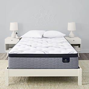 King Serta Perfect Sleeper Elite Trelleburg II Plush Pillow Top 14.25 Inch Mattress