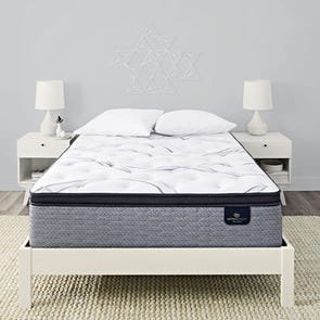 Cal King Serta Perfect Sleeper Elite Trelleburg II Plush Pillow Top 14.25 Inch Mattress