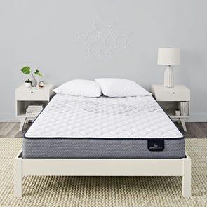 Queen Serta Perfect Sleeper Elkins II Plush 9 Inch Mattress