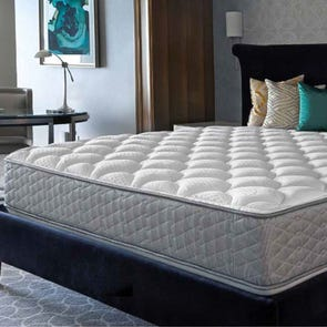 Queen Serta Perfect Sleeper Hotel Concierge Suite II Firm Double Sided 12 Inch Mattress