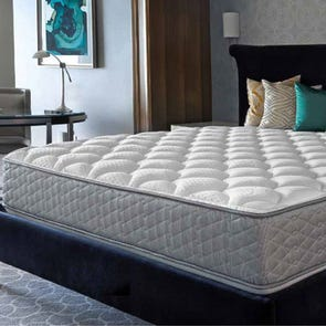 Queen Serta Perfect Sleeper Hotel Signature Suite II Plush Double Sided 13.25 Inch Mattress