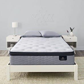 Queen Serta Perfect Sleeper Hybrid Standale II Firm Pillow Top Mattress