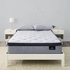 King Serta Perfect Sleeper Hybrid Standale II Plush Pillow Top 13.75 Inch Mattress