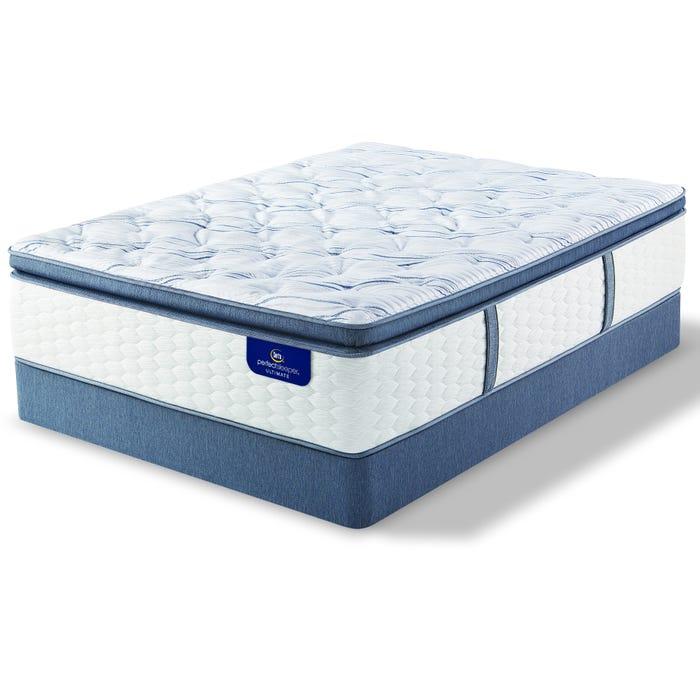 King Serta Perfect Sleeper Ultimate Leshone Super Pillow Top Firm