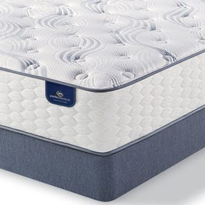 Queen Serta Perfect Sleeper Belltower Plush 11.5 Inch Mattress SDML111915 - Scratch and Dent Model ''As-Is''