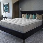 King Serta Perfect Sleeper Hotel Regal Suite II Plush Double Sided 11 Inch Mattress 2 Pack