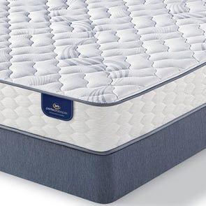 Queen Serta Perfect Sleeper Hutchings II Firm Mattress