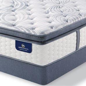Queen Serta Perfect Sleeper Elite Trelleburg Super Pillow Top Plush Mattress