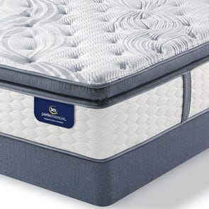 Serta Perfect Sleeper Elite Linden Pond Super Pillow Top King Mattress Only SDMB021905- Scratch and Dent Model ''As-Is''