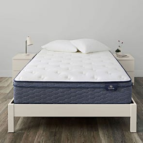 Full Serta Sleep True Alverson II Plush Euro Top 13 Inch Mattress