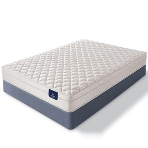 Queen Serta Sleep True Lehmann Firm Euro Top Mattress