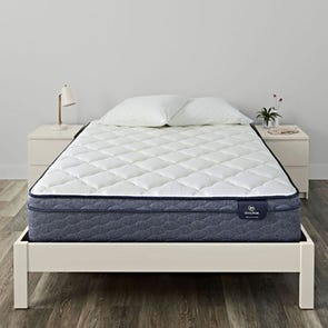 Queen Serta Sleep True Malloy Plush Euro Top Mattress