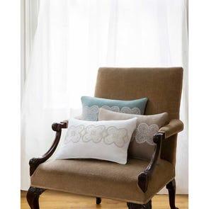 SFERRA Norrio Decorative Pillow in Snow