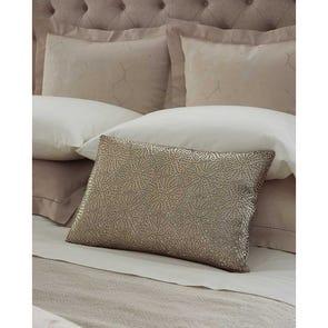 SFERRA Liana Decorative Pillow in Bronze