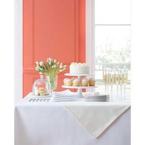 SFERRA Harrow Set of 4 Dinner Napkins in White