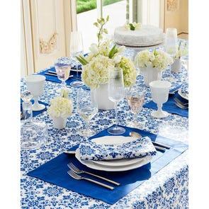 SFERRA Haley Dinner Napkin Set of 4 in Royal