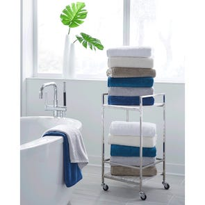 SFERRA Sarma Bath Towel in Marine