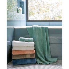 SFERRA Amira Hand Towel in Cadet