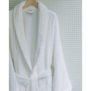 SFERRA Amira Robe Small in White