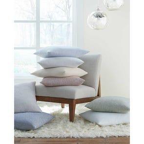 SFERRA Terzo Decorative Pillow in Silversage