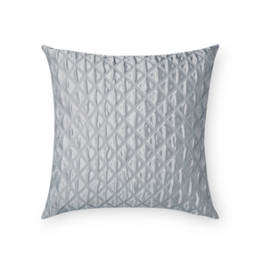 Sferra Antella 22 Inch Decorative Pillow in Silver
