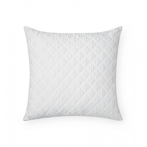 Sferra Antella 22 Inch Decorative Pillow in White