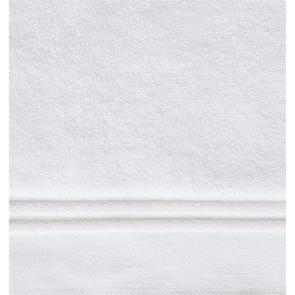 Sferra Aura 30 Inch Hand Towel in White/White