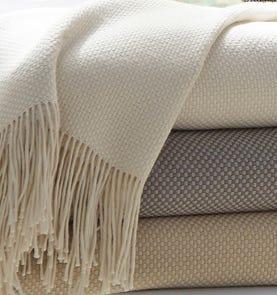 SFERRA Bristol Throw Blanket