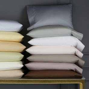 SFERRA Celeste Standard Pillowcase Pair