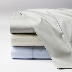 SFERRA Celeste Queen Sheet Set