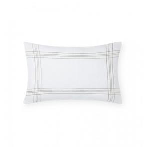 Sferra Chianni 22 Inch Decorative Pillow in White/Latte