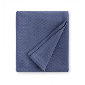Sferra Corino 100 Inch Full/Queen Blanket in Delft