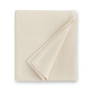 Sferra Corino 100 Inch Full/Queen Blanket in Ivory