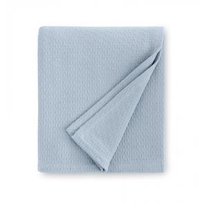Sferra Corino 100 Inch Full/Queen Blanket in Powder