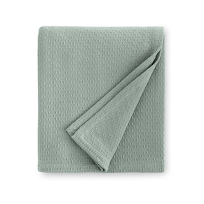 Sferra Corino 100 Inch Full/Queen Blanket in Seagreen