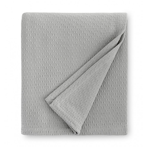 Sferra Corino 100 Inch Full/Queen Blanket in Silver
