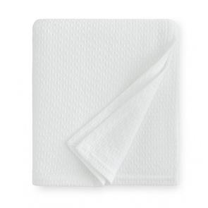 Sferra Corino 100 Inch Full/Queen Blanket in White