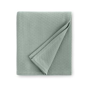 Sferra Corino 100 Inch King Blanket in Seagreen
