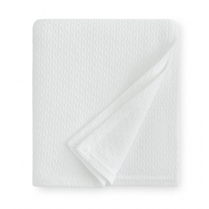 Sferra Corino 100 Inch King Blanket in White