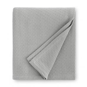 Sferra Corino 100 Inch Twin Blanket in Silver