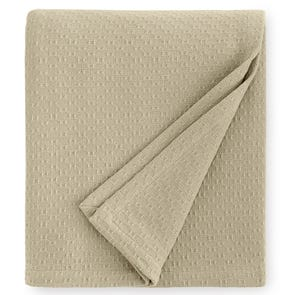 SFERRA Corino 100 Inch Twin Blanket in Oat