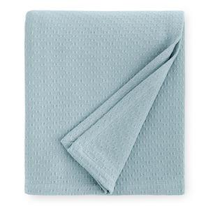 SFERRA Corino 100 Inch King Blanket in Poolside