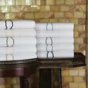 SFERRA Genna Standard Pillowcase Pair