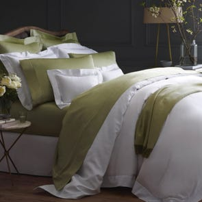 Clearance SFERRA Giotto King Flat Sheet in Ivory OVLB0818039