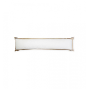 Sferra Intreccio 50 Inch Decorative Pillow in White/Gold