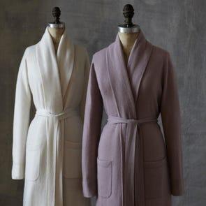 SFERRA Nadia Medium/ Large Robe in Mauve