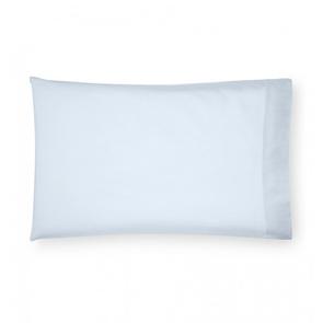 Sferra Opelle 33 Inch Standard Pillowcase Pair in Aquamarine