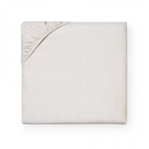 Sferra Opelle 80 Inch Queen Bottom Fitted Sheet in Latte