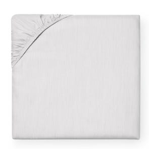 SFERRA Opelle 80 Inch Queen Bottom Fitted Sheet in Titanium